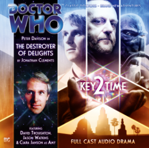 Big Finish The Destroyer of Delights signed Will Barton